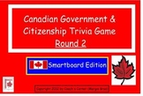 Canadian Government Smartboard Trivia Game - Round 2
