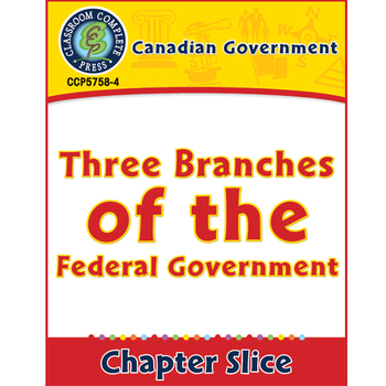 Canadian Government: Three Branches of the Federal Governm