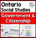 Ontario Grade 5 Social Studies   Strand B   Canadian Government and Citizenship