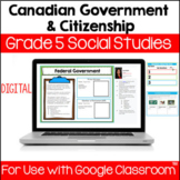 Canadian Government and Citizenship Unit for Use with Goog