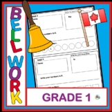 CANADIAN GRADE ONE YEAR LONG BELL WORK