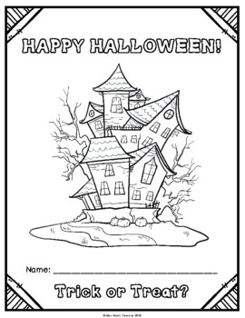 Canadian Halloween Math & Literacy Activity Pack (No Prep!)