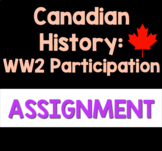 Canadian History 1939-1945: Canada's Participation in Worl