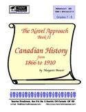 Canadian History (2) 1866-1910 -  Novel Studies
