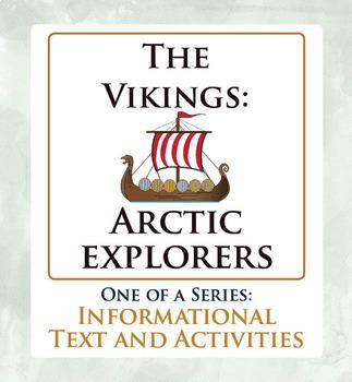 Arctic Exploration Canadian History BUNDLE Vikings Frobisher Franklin Amundsen