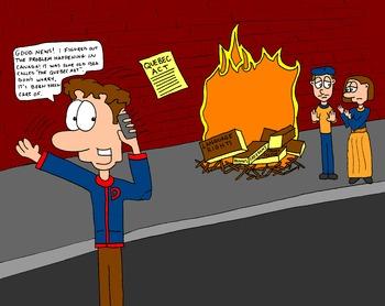 Canadian History Cartoon - The Durham Report