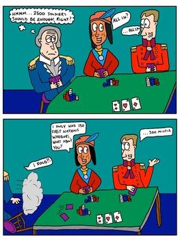 Canadian History Cartoon - War of 1812: Battle of Fort Detroit Cartoon