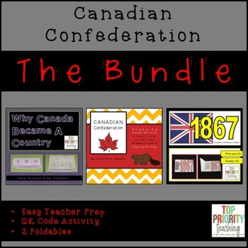 Canadian History: Confederation Bundle