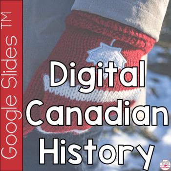 Canadian History Digital Interactive Notebook