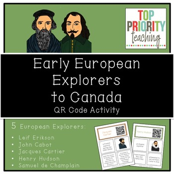 Canadian History: Early European Explorers to Canada