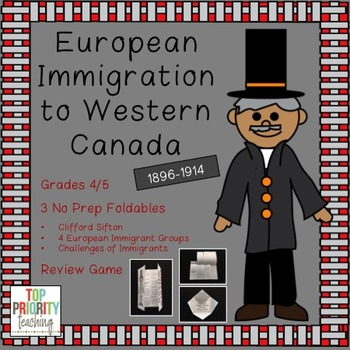 Canadian History: European Immigrants To Western Canada 1896-1914