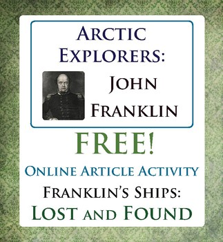 Arctic Explorer John Franklin's Expedition Canadian History FREE