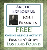 Arctic Exploration John Franklin's Expedition Canadian History FREE