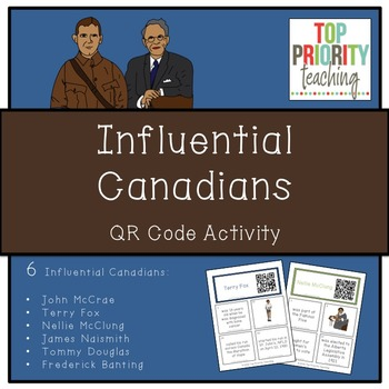 Canadian History: Influential Canadians