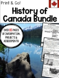 Canadian History Mega Bundle
