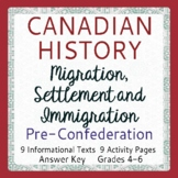 CANADIAN HISTORY: Migration, Settlement, Immigration to 18