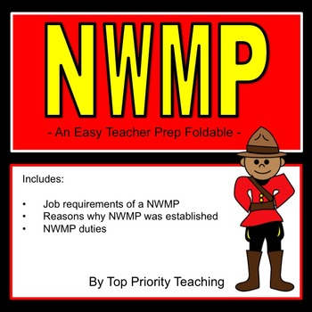 Canadian History: North West Mounted Police (NWMP)