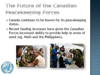 Canadian Peacekeeping Powerpoint