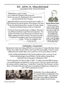 Canadian History: Sir John A. Macdonald Grades 4-6