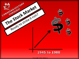 Canadian History and the Stock Market - Ready to Strike it Rich? 1945 to 1980