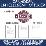 Canadian Intelligence Officer - Operation Dossier