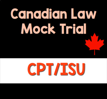 Canadian Law Mock Trial Resource