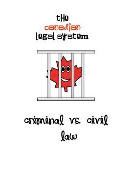 Canadian Legal System - Criminal vs. Civil Law