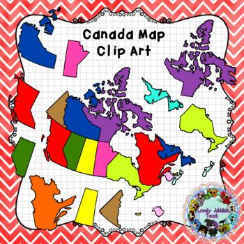 Canadian Map Set