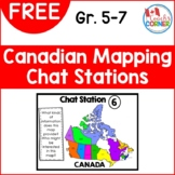 Canadian Mapping Chat Stations FREEBIE