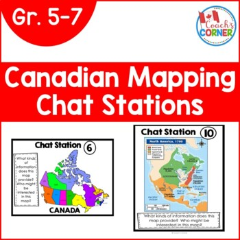 Canadian Mapping - Types of Maps Chat Stations