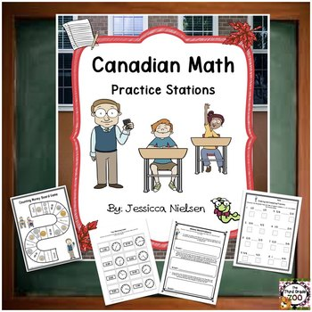 Canadian Math Practice Stations