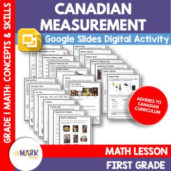 Canadian Measurement Lesson Plans