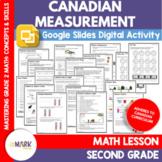 Canadian Measurement Grade 2 Worksheets