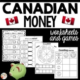 Canadian Money Worksheets and Games
