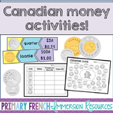 Canadian Money Activities (Only coins)