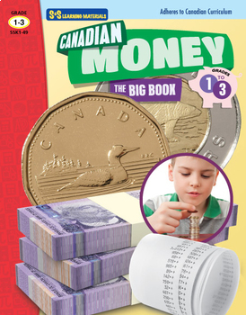 Canadian Money Big Book Grades 1-3