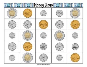 Canadian Money Bingo (pdf)