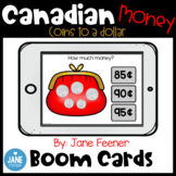 Canadian Money Boom Cards for Distance Learning