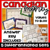 Canadian Money Math Centers ~ MEGA Bundle
