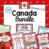 Canadian Social Studies & Math Bundle