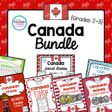 Canadian Social Studies & Math Bundle
