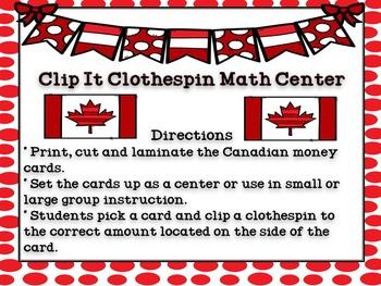 Canadian Money Clip It Center