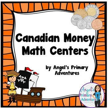 Canadian Money (Coins) Math Centers
