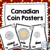 Canadian Money:  Canadian Coins Poster Set