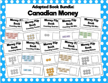 Canadian Money Flip Book Bundle
