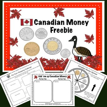 Canadian Money Freebie!