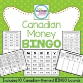 Canadian Money Bingo