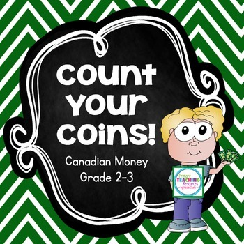 FREE Canadian Money Game: Count Your Coins!