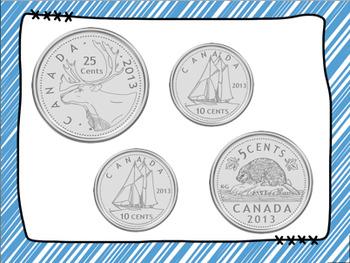 Canadian Money Games Bundle. Differentiate your instruction!