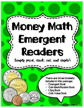 Canadian Money Math Booklets